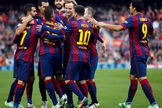 Barcelona goleó 5-0 al Córdoba por la Liga con doblete de Lionel Messi  [VIDEO/FOTOS]