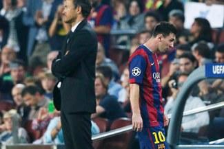 """Barcelona: Gerard Piqué asegura Luis Enrique """"manda más"""" que Lionel Messi en vestuario"""