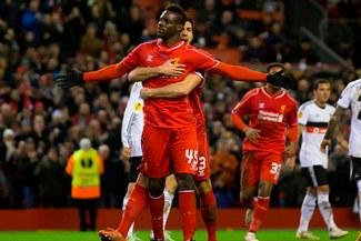 Con gol de Mario Balotelli,Liverpool venció 1-0 a Besiktas por Europa League [VIDEO/FOTOS]