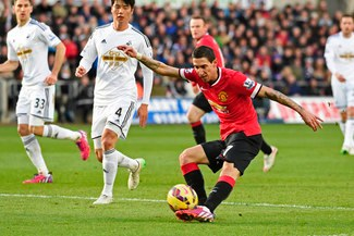 """Swansea vs. Manchester United: """"Diablos Rojos"""" cayeron 2-1 por la Premier League [FOTOS/VIDEO]"""
