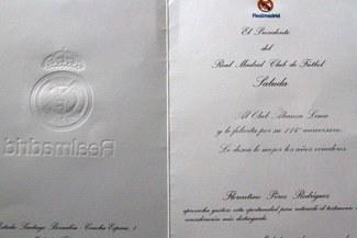 Alianza Lima: Real Madrid le envió una carta por su aniversario