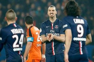 PSG venció 3-1 a Lorient con triplete de Zlatan Ibrahimovic y son lideres en Francia [VIDEO]