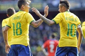 Brasil ganó 1-0 a Chile con gol de Firmino en partido amistoso en Londres [VIDEO/FOTOS]