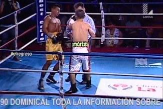 Alberto Rossel vs. Jeyson Cervantes: 'Chiquito' casi noquea a juez de un tremendo golpe [VIDEO]