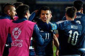 Argentina venció 1-0 a Uruguay y está a un paso de clasificar a cuartos de la Copa América