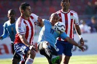 Uruguay igualó 1-1 ante Paraguay y clasificaron a cuartos de final de la Copa América [FOTOS / VIDEO]