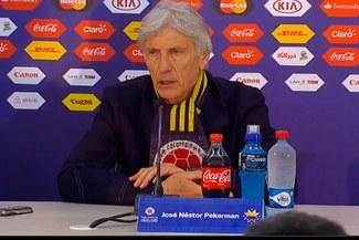 José Pekerman explica la eliminación de Colombia de la Copa América [VIDEO]