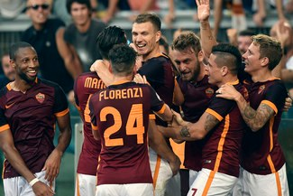 Juventus cayó 2-1 ante AS Roma por Serie A [VIDEO/FOTOS]