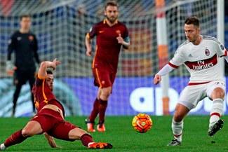 Roma igualó 1-1 ante Milan por la fecha 19 de la Seria A [VIDEO]