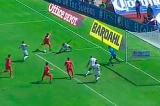 Christian Cueva amagó, superó a rival y anotó golazo para el Toluca [VIDEO]