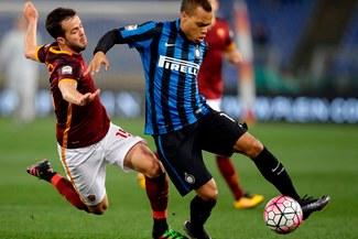 AS Roma empató 1-1 ante Inter de Milán por la Serie A | VIDEO