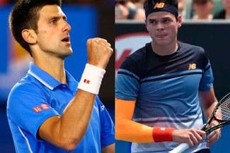 Novak Djokovic ganó sin complicaciones a  Milos Raonic en final de Indian Wells