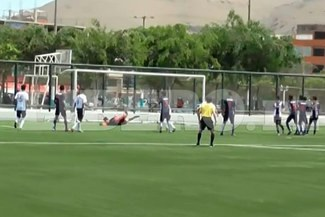 Copa Federación 2016: Hijo de Mauro Cantoro le metió estos tres golazos a Alianza Lima |VIDEO