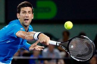 Novak Djokovic y la jugada que enloqueció a los fanáticos del Masters 1000 de Miami | VIDEO