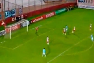 Sporting Cristal vs. Huracán: Gabriel Costa falló increíble ocasión de gol |VIDEO