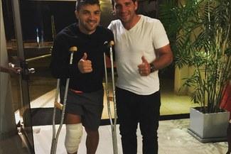 Sporting Cristal: Gabriel Costa fue operado con éxito de la rodilla derecha