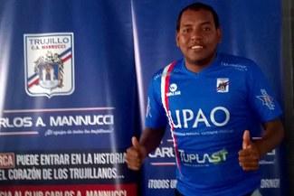 Segunda División: Luis Cordero es el flamante refuerzo de Carlos A. Mannucci