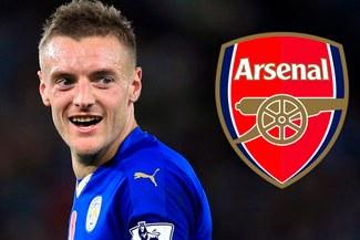 Arsenal pagará la cláusula de rescisión de Jamie Vardy, afirman en Inglaterra