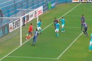 Sporting Cristal vs. César Vallejo: el increíble blooper de Diego Penny en el gol de Felipe Cardoza | VIDEO