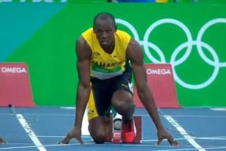 Río 2016: Usain Bolt debutó en 100 metros planos con un tiempo de 10.07 en Juegos Olímpicos