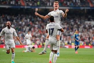 Real Madrid venció 2-1 al Celta de Vigo y es líder de Liga Santander   VIDEO