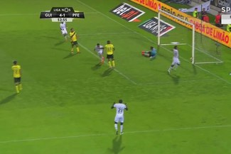 Paolo Hurtado se mandó con un golazo de 'palomita' en la liga de Portugal | VIDEO
