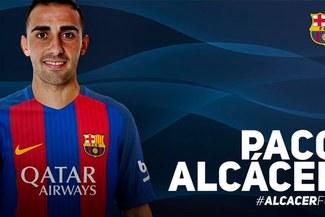 OFICIAL: Barcelona anuncia el fichaje del delantero Paco Alcácer