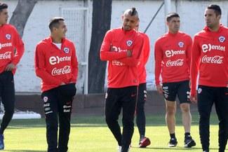 Tensión en Chile: Arturo Vidal tuvo discrepancias con Juan Antonio Pizzi y abandonó entrenamientos