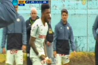 Universitario vs. UTC: Alexi Gómez marcó un golazo en el empate de la 'U'   VIDEO