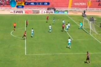 Melgar FBC vs. Sporting Cristal: Bernardo Cuesta y el golazo que le marcó a Diego Penny |VIDEO