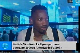 Andrés Mendoza y sus primeras palabras tras ganar la Copa América IFA 7 |VIDEO