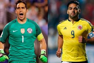 Colombia vs. Chile: el enojo de Claudio Bravo con periodista por Radamel Falcao | VIDEO