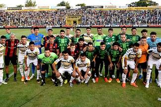 San Lorenzo lució las últimas camisetas que vistieron los jugadores del Chapecoense |VIDEO