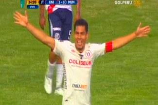 Universitario vs. Municipal: Hernán Rengifo anotó 1-0 tras jugadón de Andy Polo | VIDEO