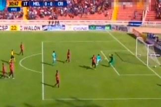 Melgar vs. Sporting Cristal: Diego Ifrán y su colosal falla sólo frente al arco | VIDEO