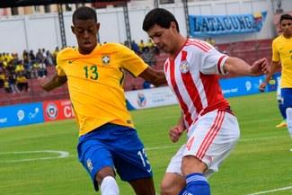 Brasil derrotó 3-2 a Paraguay y  clasificó al hexagonal final del Sudamericano Sub-20