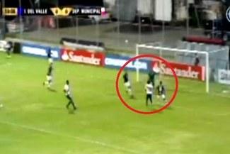 Deportivo Municipal vs. Independiente del Valle: así fue el golazo de Sergio Moreno | VIDEO