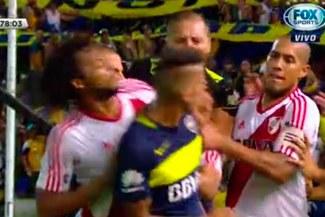 Boca Juniors vs. River Plate: la tremenda bronca que acabó con tres expulsados | VIDEO