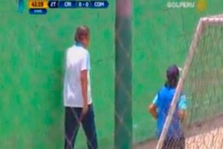 Sporting Cristal: 'Chemo' del Solar abandonó el Alberto Gallardo antes de final del partido | VIDEO