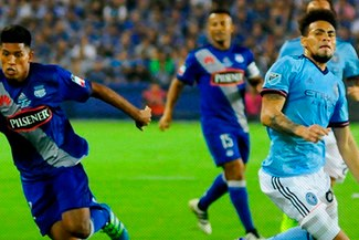 Duelo de peruanos: Emelec empató 2-2 contra New York City en partido amistoso | VIDEO