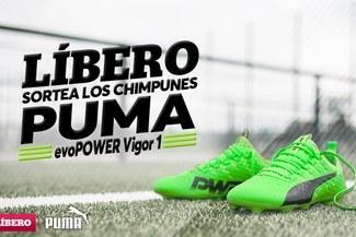 Líbero y Puma te regalan los nuevos chimpunes evoPOWER Vigor 1 51952d6132927