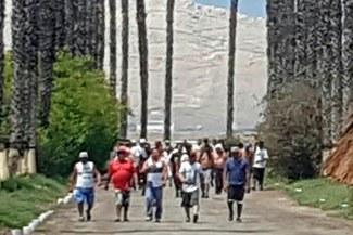 Universitario: hinchas cremas volvieron entrar a los entrenamientos en Campo Mar | VIDEO