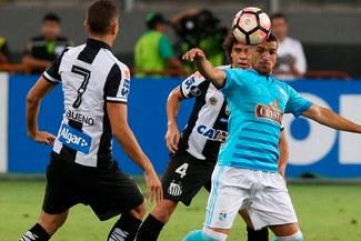 Sporting Cristal igualó 1-1 ante Santos en su debut de la Copa Libertadores |VIDEO