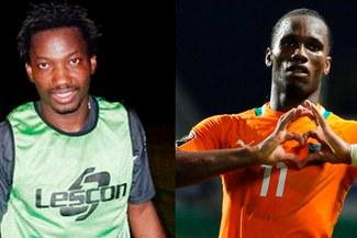 "Andrés Mendoza aseguró parecerse a este crack mundial: ""me parezco a Didier Drogba"" [VIDEO]"