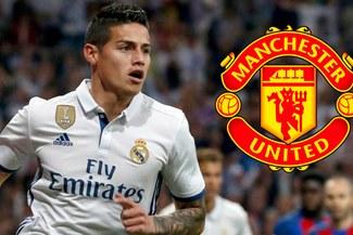Real Madrid y Manchester United habría llegado a un acuerdo por James Rodríguez