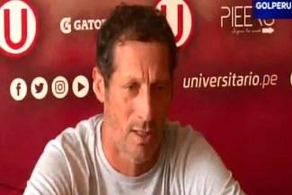 Universitario de Deportes: Pedro Troglio reveló en cuántos días regresa Juan Vargas [VIDEO]