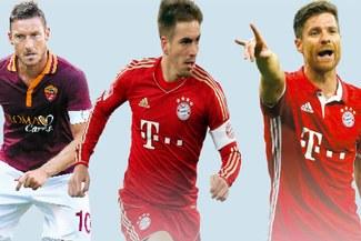 Tres leyendas del fútbol mundial se despiden a final de temporada