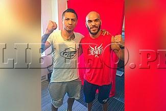 Jonathan Maicelo vs. Raymundo Beltran: boxeadores se encontraron en Nueva York [FOTO]