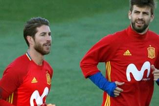 Sergio Ramos habló de su relación con Gerard Piqué fuera de las canchas