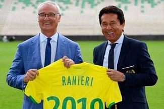 Claudio Ranieri fue presentado en Nantes con la intención de dar la sorpresa al estilo Leicester